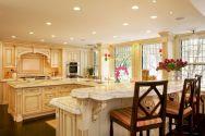 Inspiring u shaped kitchen ideas with breakfast bar (62)