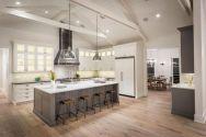 Inspiring u shaped kitchen ideas with breakfast bar (64)