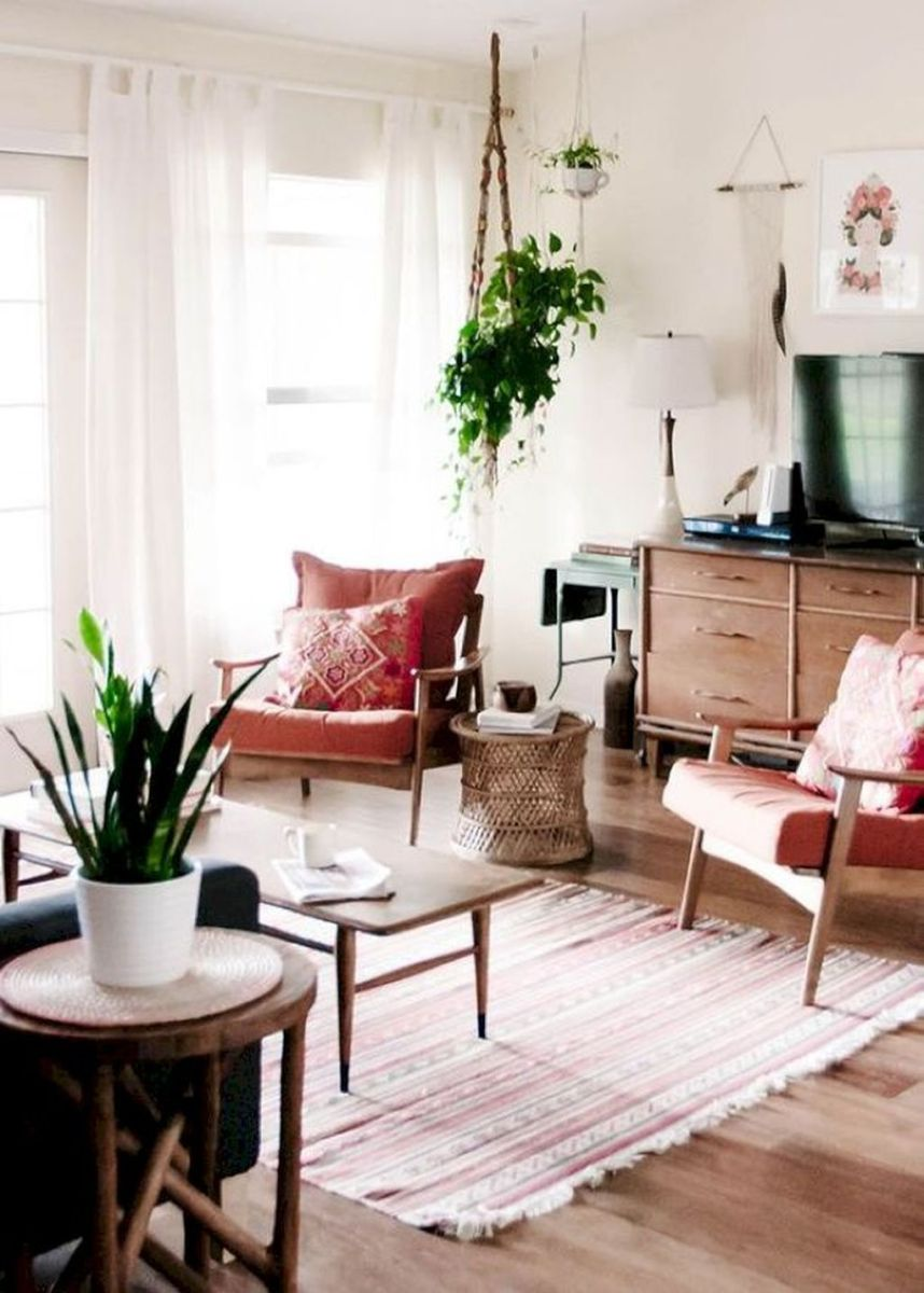 Mid century modern apartment decoration ideas 08