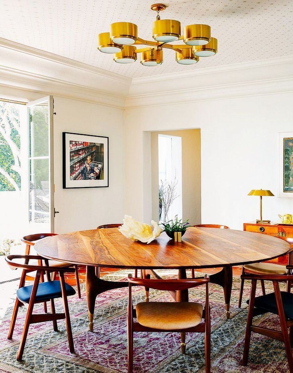 Mid century modern apartment decoration ideas 18