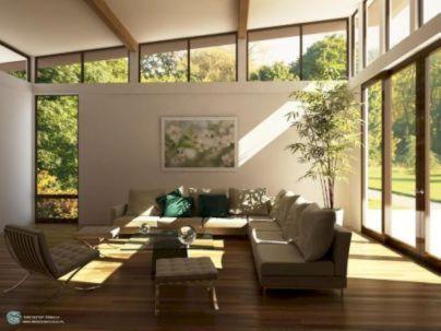 Mid century modern apartment decoration ideas 23