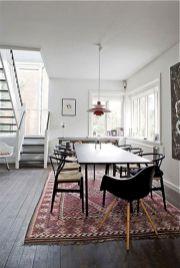 Mid century scandinavian dining room design ideas (1)