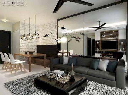 Mid century scandinavian dining room design ideas (11)
