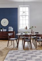 Mid century scandinavian dining room design ideas (12)