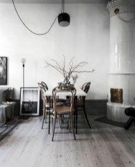 Mid century scandinavian dining room design ideas (15)
