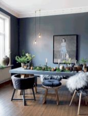 Mid century scandinavian dining room design ideas (22)