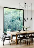 Mid century scandinavian dining room design ideas (39)