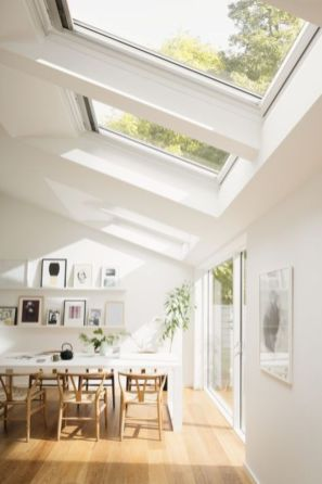 Mid century scandinavian dining room design ideas (40)