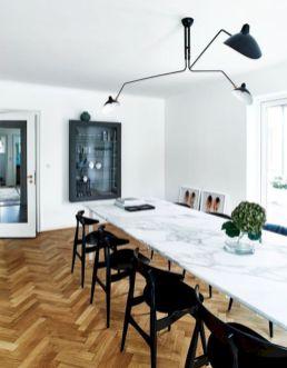 Mid century scandinavian dining room design ideas (50)