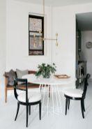 Mid century scandinavian dining room design ideas (54)