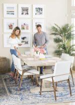 Mid century scandinavian dining room design ideas (8)