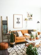 Modern leather living room furniture ideas (31)