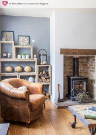 Modern leather living room furniture ideas (33)