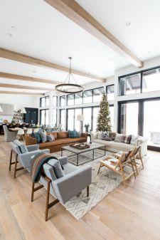 Modern leather living room furniture ideas (37)