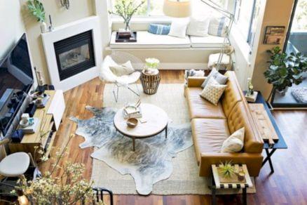 Modern leather living room furniture ideas (46)