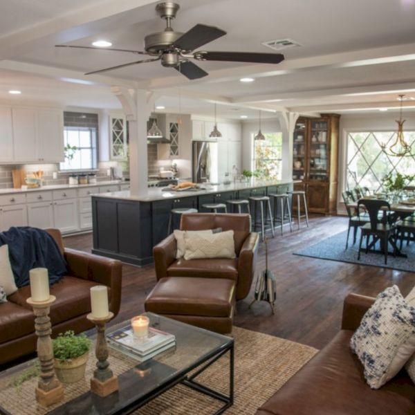 70 Modern Leather Living Room Furniture Ideas