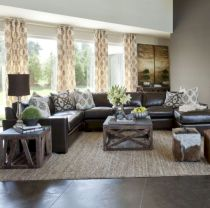 Rustic living room curtains design ideas (23)