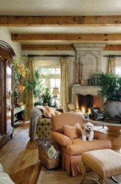 Rustic living room curtains design ideas (32)