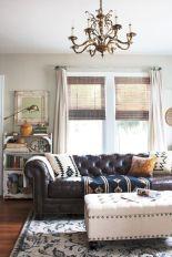Rustic living room curtains design ideas (37)