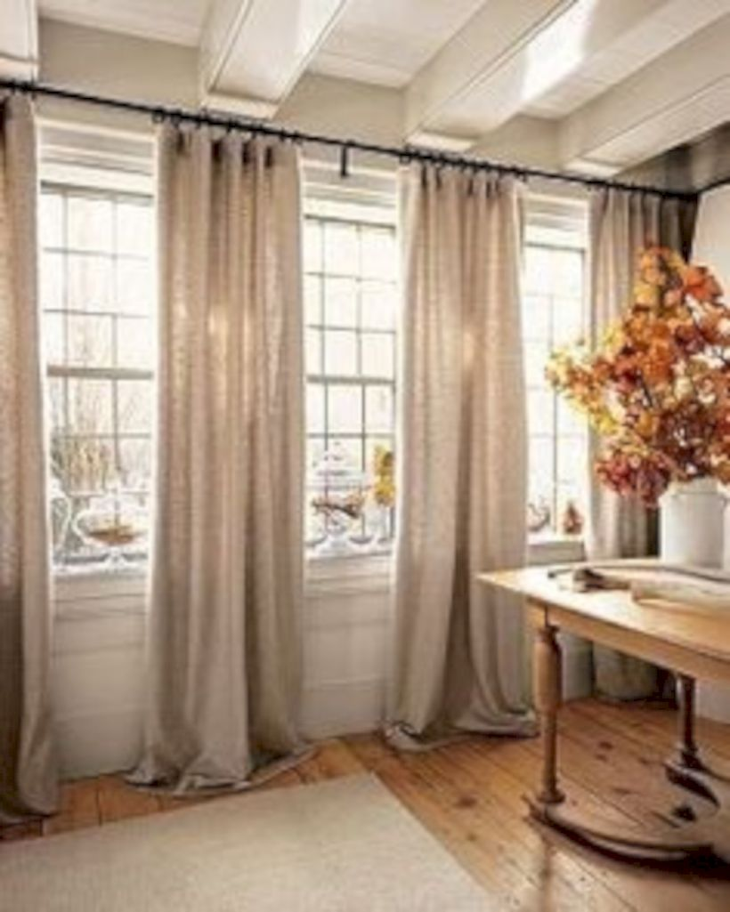 Our Choice of Best Rustic Living Room Curtains Pics ...