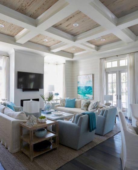 62 Rustic Living Room Curtains Design Ideas - ROUNDECOR