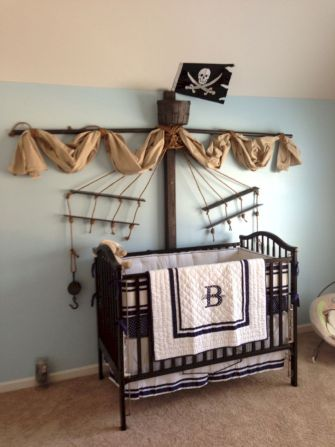 Simple baby boy nursery room design ideas (34)