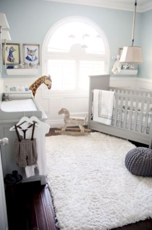 simple baby boy nursery room design ideas 35