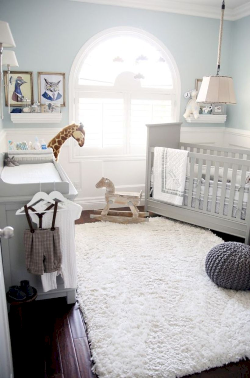 Simple Baby Boy Nursery Room Design Ideas (35) Part 45
