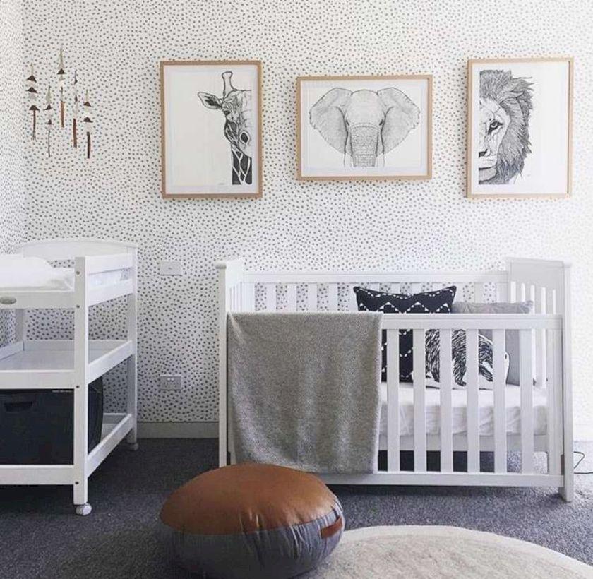 Simple baby boy nursery room design ideas (37)