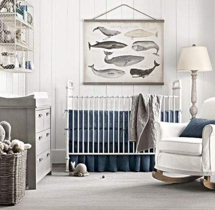 Simple baby boy nursery room design ideas (5)