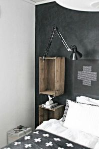 Small modern industrial apartment decoration ideas 55