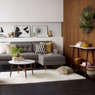 Stylish dark wood floor ideas for your living room (2)