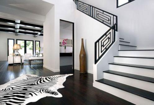 Stylish dark wood floor ideas for your living room (25)