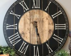 Unique wall clock designs ideas 03