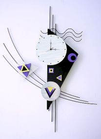 Unique wall clock designs ideas 32