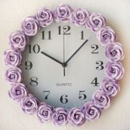 Unique wall clock designs ideas 37