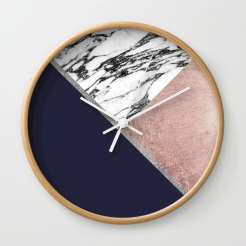 Unique wall clock designs ideas 46