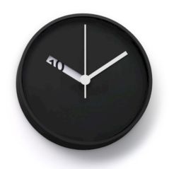 Unique wall clock designs ideas 48