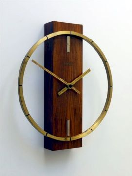 Unique wall clock designs ideas 54
