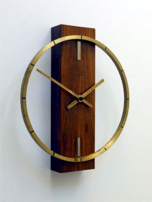 Unique wall clock designs ideas 54