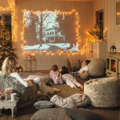 Adorable christmas living room décoration ideas 1 1