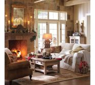 Adorable christmas living room décoration ideas 11 11