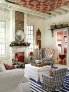 Adorable christmas living room décoration ideas 15 15