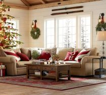 Adorable christmas living room décoration ideas 16 16