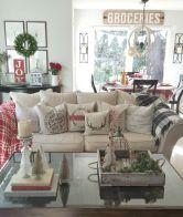 Adorable christmas living room décoration ideas 28 28