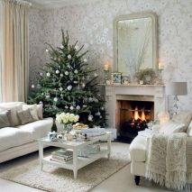 Adorable christmas living room décoration ideas 4 4