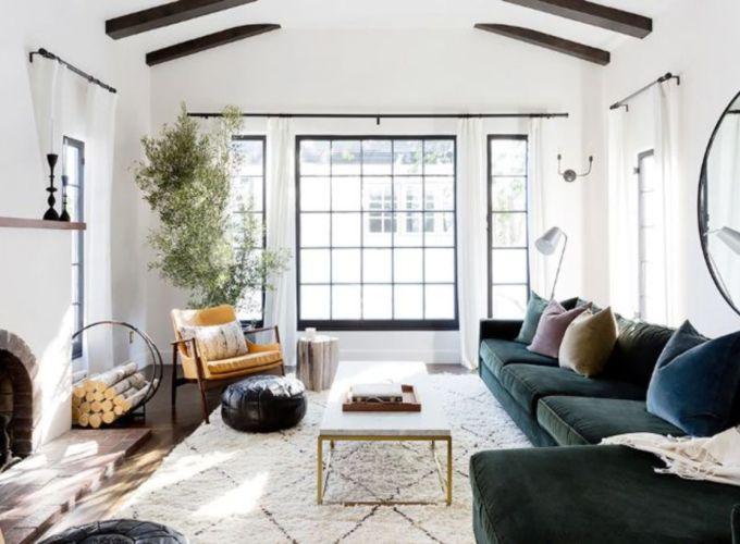 Adorable christmas living room décoration ideas 49 49