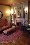 Adorable christmas living room décoration ideas 6 6