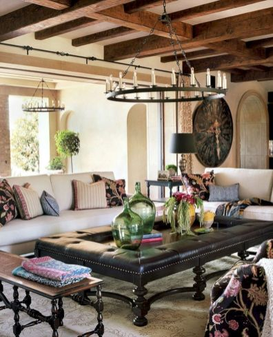 Adorable country living room design ideas 01