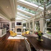 Adorable country living room design ideas 25
